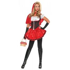 Little Red Riding Hood Costume Adult Halloween Fancy Dress