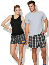 University of Northern Iowa Boxers UNI Boxer Shorts Plaid Boxers FOR HIM OR HER!