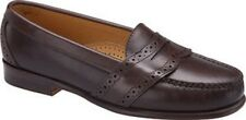 Dexter 1957 Newfound Penny Loafer Dress Shoe Made in USA Brown Size 12WW   New!