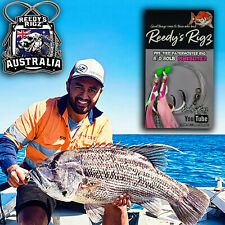 5 Snapper Snatchers Rig 5/0 Hook Fishing Tackle Surf Paternoster Mulloway Rigs