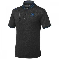 Oakley Golf SKULL SKULL CIRCULAR RIB POLO Jet Black 433624JP-01K JP Model 2016