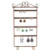 24 Pairs Earrings Ear Studs Holder Stand Jewelry Display Rack Antique Multi