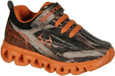 Realtree Outfitters Lil Firefly Toddler Light Up Tennis Shoes Orange/Max-5 Camo