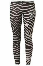 WOMENS ADIDAS ORIGINALS ZEBRA PRINT LEGGINGS- SIZE 8, 10  - BNWT LAST 3