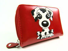 Womens Ladies Girls Quality Fun Dog Motif Purse Wallet Coin Pouch Card Holder