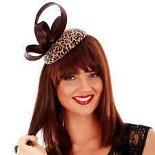 INSTANTLY FABULOUS - WOOL FELT PILLBOX FASCINATOR - W1415