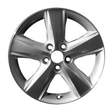 OEM Reman 17x7 Alloy Wheel, Rim Sparkle Silver Painted with Machined Face-69566