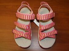 NIB Girls MERRELL Pink SPINNER 3 STRAP WATER SANDALS Shoes Szs 4 M 5 M