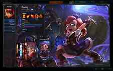 League of Legends level 30 account with hextech annie +legendary+ultimate skins