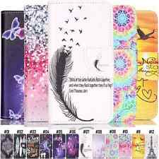 Colorful Shockproof Cover For Apple PU Leather Pattern Stand Magnetic Skin Case