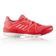 Adidas Supernova Sequence 9 Womens Red Support Running Road Shoes Trainers