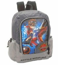 "BAKUGAN Battle Brawlers 16"" Backpack New Vestroia 3D or Grey & Black NEW w/ TAG"