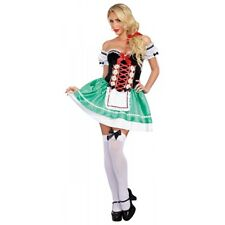 German Girl Costume Adult Sexy Beer Maiden Oktoberfest Halloween Fancy Dress