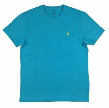 Ralph Lauren Polo Mens Crew Neck Pony Logo T-Shirt Blue/Green New
