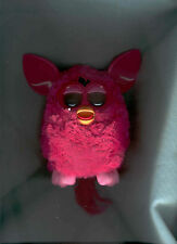 """HOT PINK FURRY FURBY 6"""" Tall 2012 HASBRO Works Great!"""