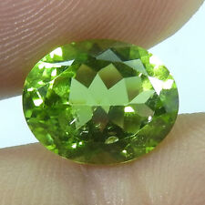 3.19 ct. Amazing Top Rich Green Peridot ++++ Sparkling AAA+