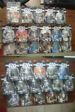 Star Wars Saga 12 Figure Available MOC w/Holo Mini-Figures Every 2nd Ships Free
