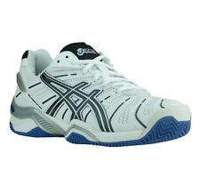 NEW asics Gel-Resolution 4 Clay Shoes Tennis shoes White E212N 0190 Indoor shoes