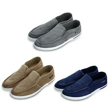 New Summer Canvas Breathable Slip On Sneakers Loafers Mens Leisure Shoes SAU