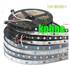 WS2811 5050 RGB LED Strip 5M 150 300 450Leds Addressable DC12V Waterproof Strip