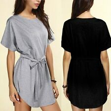 Sexy Women Summer Casual Batwing Sleeve Evening Party Cocktail Short Mini Dress