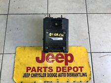 1999-2004 GRAND CHEROKEE V8 or V6 4X4or4X2 BODY CONTROL MODULE P56042942AC OEM