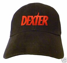 Dexter Logo Embroidered Baseball Hat - Cap - NEW