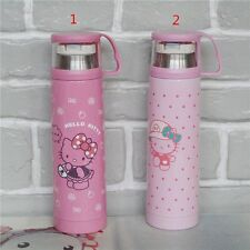 Hello Kitty Pink Stainless Steel Kid Children Vacuum Cup Insulated Mug 2 choose