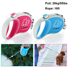 New 5M Automatic Retractable Pet Dog Cat Puppy Traction Rope Walking Lead Leash