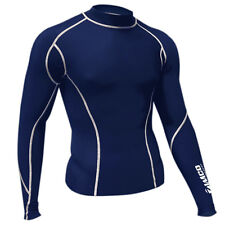 Zimco Winter Compression Jersey Baselayers Thermal Under Top Shirts Skins Navy