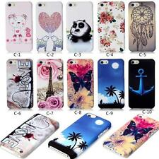 Cute Design Pattern Hard Ultra thin Back Case Cover For iPhone Series