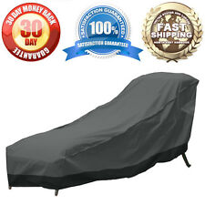 Patio Chaise Lounge Chair Garden Outdoor Furniture Winter Cover Large Weather