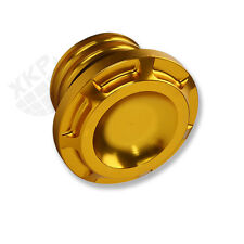 Black and Golden Fuel Gas Tank Cap for Harley Sportster Dyna 1992-2014