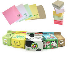 300 Sheets Funny Cute Milk Box Style Memo Pads Note Pad Paper Notepad Stationery