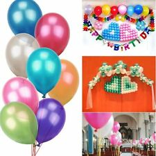 "1pcs 12"" Pearl Latex Helium Ballons Wedding Birthday Party Decoration Balloons"