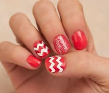 Chevron Zig Zag Thick Nail Decal Vinyl Sticker Nail Art - Buy 2 Get 1 Free
