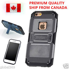 iPhone 6 6S PLUS Cover Case Shockproof HYBRID Heavy Duty Armor With Kickstand