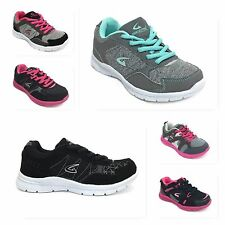 New Girls Kids Athletic Light Weight Casual Tennis Running Sneakers School Shoes