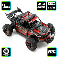 Electric RC Off-road Truck 2.4Ghz 4WD High Speed Car Buggy Toy 1/18 Vehicle Kits