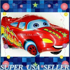 Lighting Mcqueen Disney Pixar Cars Toy Foil Balloon Decor Birthday Party Supply