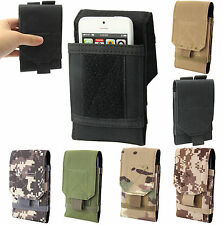 Universal Velcro Army Camo Belt Pouch Case Cover Holder Holster for Mobile Phone
