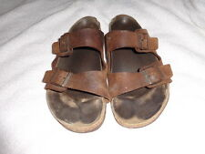 Birkenstock Men's Arizona Casual Nubuck Double Strap Slide Sandals 47   14M