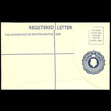 CYPRUS 1955 QEII 25 MILS REGISTERED OFFICIAL COVER MINT LARGER SIZE
