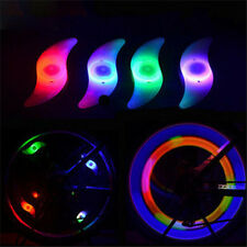 Fashion  Bike Safe Bright  Bicycle Cycling Car Wheel Tire  Led Spoke Light Lamp