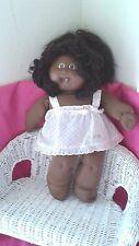 "16""Xavier Roberts AA cabbage patch kid doll rooted real or synthetic hair1 tooth"