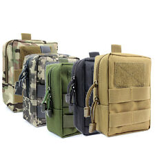 Tactical MOLLE Accessory Bag Compact Utility EMT EDC Pouch Backpack Can Track