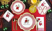 C.R. Gibson Christmas Holiday Dining Party Paper Napkins – Silly Santa
