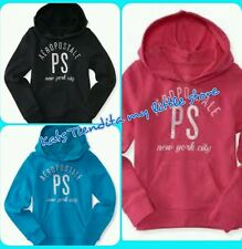 NWT PS Aeropostale Kids Girls New York Popover Hoodie Sweatshirt Pick Size/Color