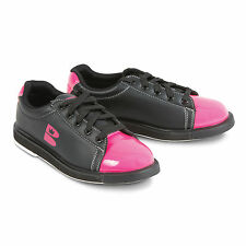 Brunswick Tzone Womens Bowling Shoes Black Pink
