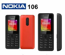 Original Nokia 106 Unlocked Mobile Phone Grade A Free Shipping